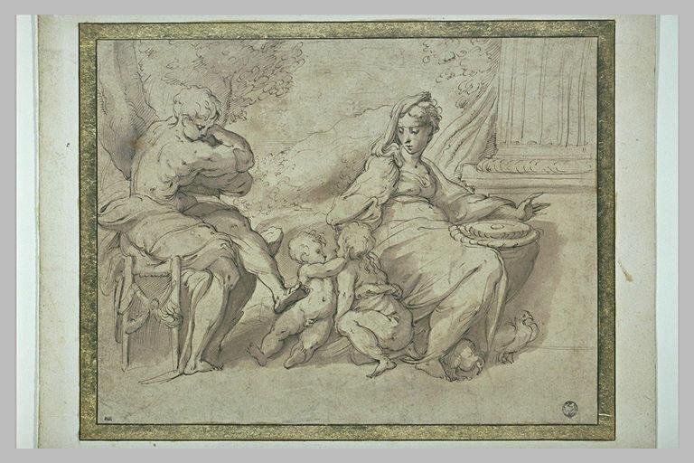 Sainte Famille avec saint Jean