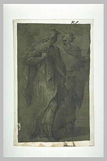 Les apôtres saint Pierre et saint Jean