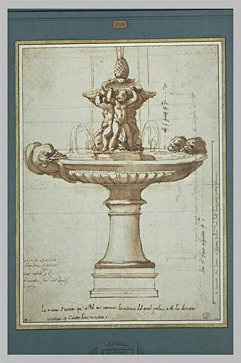 Projet pour une fontaine