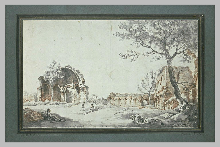 Le temple de Minerva Medica et d'autres ruines