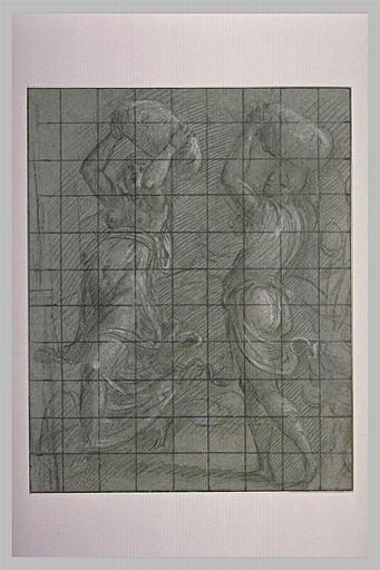 Deucalion et Pyrrha jetant les pierres qui doivent repeupler la terre
