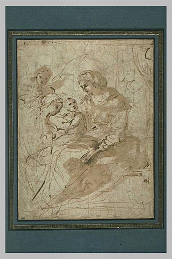 Le mariage mystique de sainte Catherine d'Alexandrie