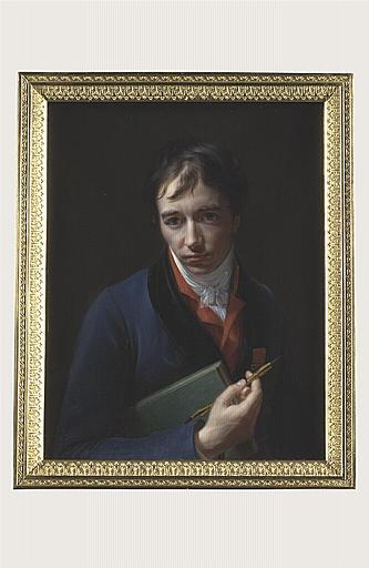 AUGUSTIN Jean-Baptiste Jacques : Portrait d'Antoine Denis Chaudet