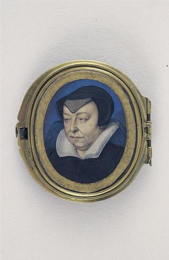 CLOUET François (attribué à) : Portrait de Catherine de Médicis
