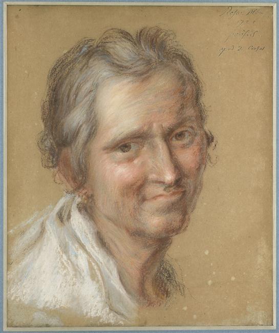 Portrait présumé de la gouvernante de Crozat_0
