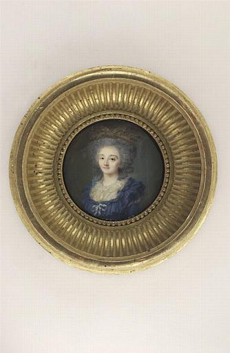AUGUSTIN Jean-Baptiste Jacques : Portrait de Madame de Carcado