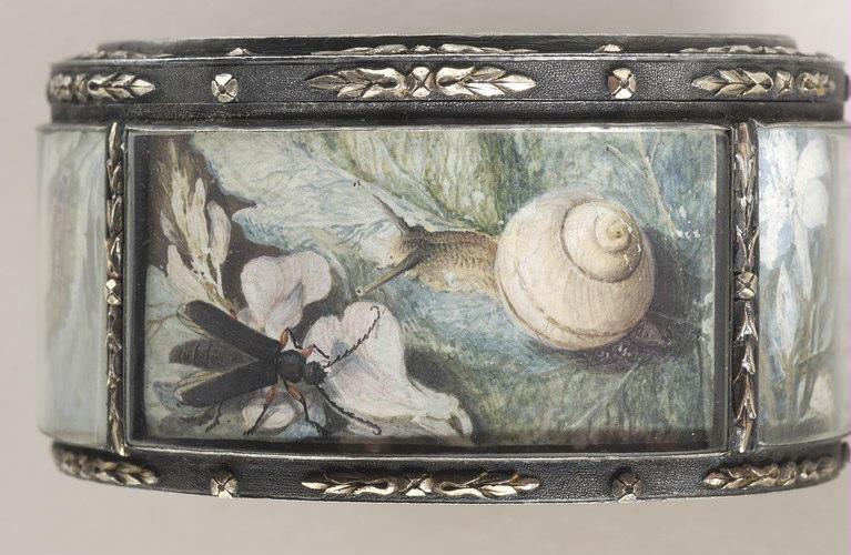 BLARENBERGHE Louis Nicolas van : Les insectes, boîte ovale à six faces