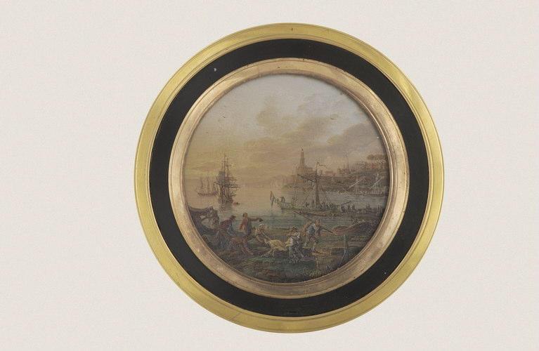 BLARENBERGHE Henri Joseph van : Marine, boîte