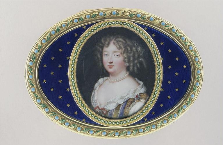 BORDIER Jacques : Portrait de femme, époque Louis XIV