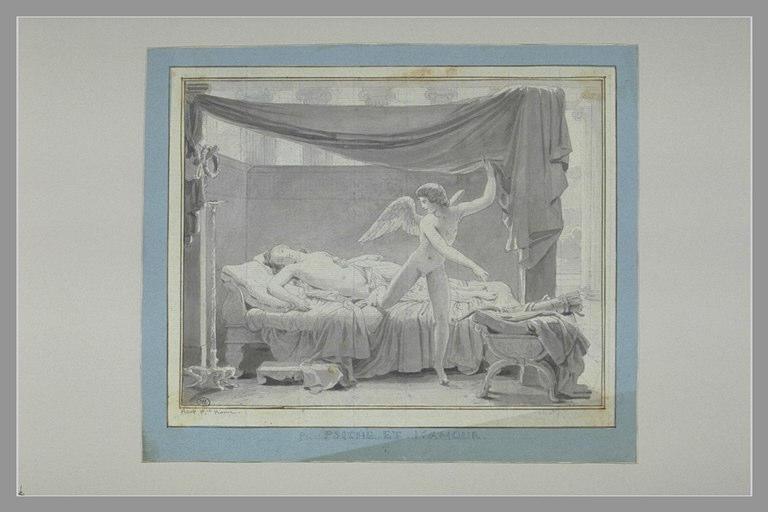 PICOT François Edouard : L'Amour et Psyché