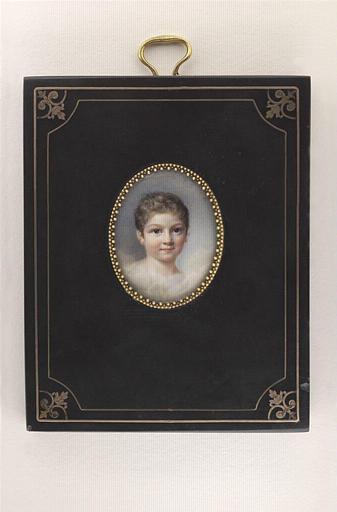 AUGUSTIN Pauline : Portrait d'Aimé Joseph Edmond Rousse, fils de Georges Rousse