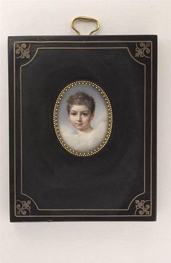 AUGUSTIN Pauline : Portrait de Louis Emile Rousse, frère du précédent