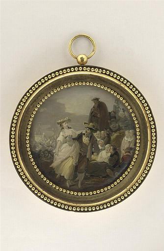DEBUCOURT Louis Philibert : Fête champêtre