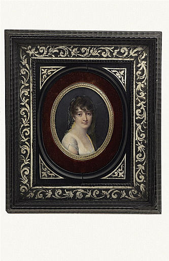 ISABEY Jean-Baptiste : Buste de la princesse Pauline Borghèse