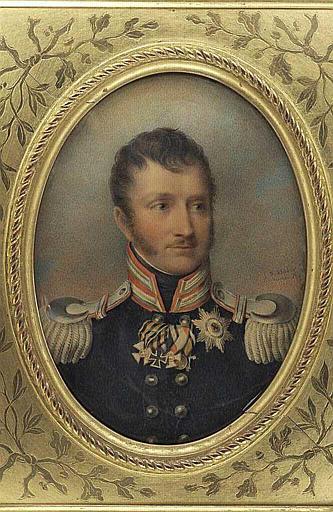 Frédéric-Guillaume de Prusse, en buste