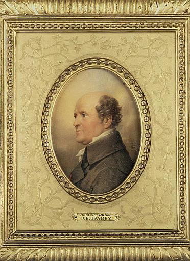 ISABEY Jean-Baptiste, GERARD François Baron (inspiré par) : Le docteur Dubois, buste