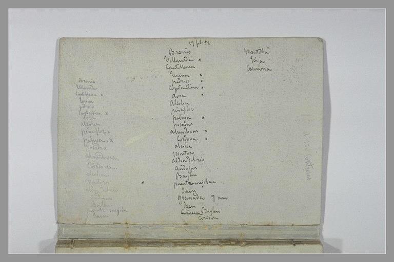 DEHODENCQ Alfred : Notes manuscrites