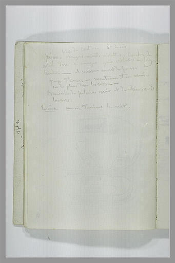 DEHODENCQ Alfred : Notes manuscrites