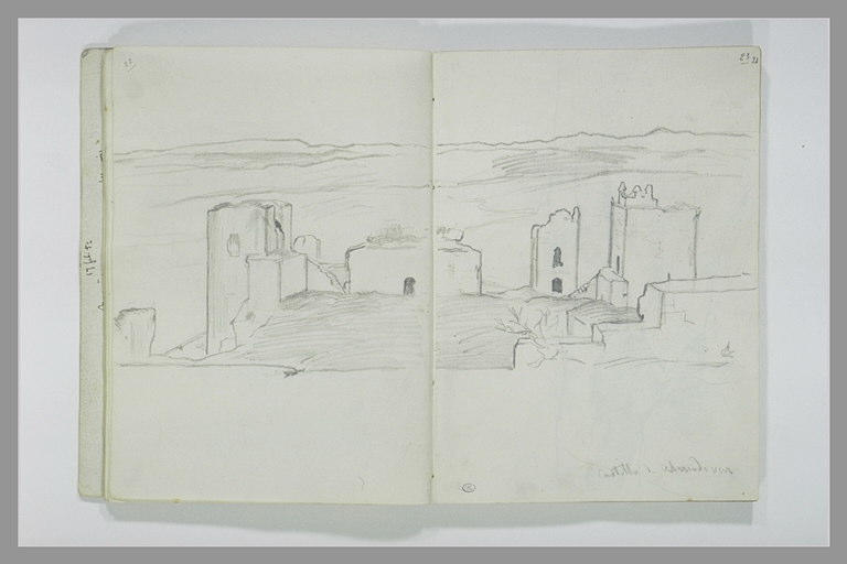 DEHODENCQ Alfred : Le château Almodovar