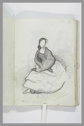 DEHODENCQ Alfred : Femme assise