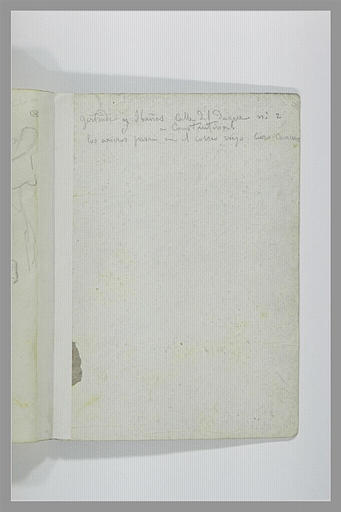 DEHODENCQ Alfred : Note manuscrite