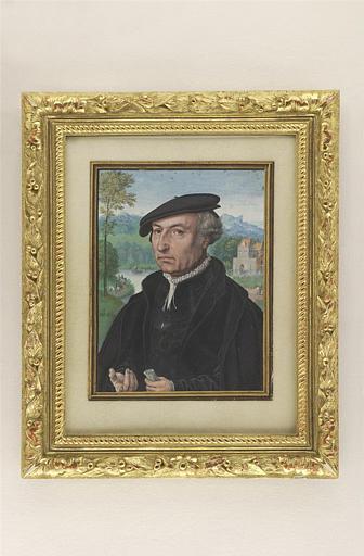 BENING Simon : Portrait présumé de l'artiste