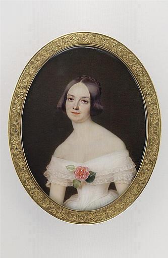 MIRBEL Lizinka Aimée Zoé de : Portrait de Madame Doulet