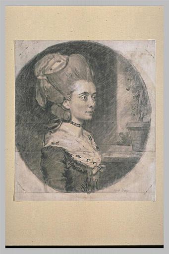 Portrait de Lady Benjamin West