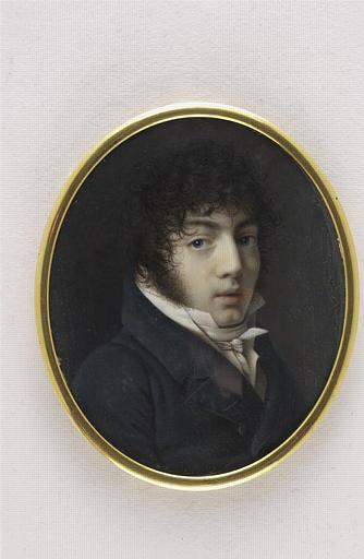 ANASTASI Paul Joseph : Son portrait peint par lui-même