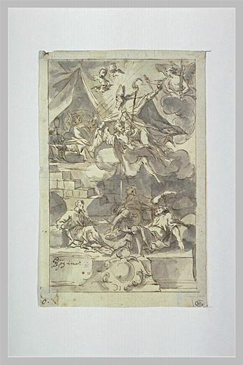 Saint Nicolas apparaissant à l'empereur Constantin et aux trois prisonniers