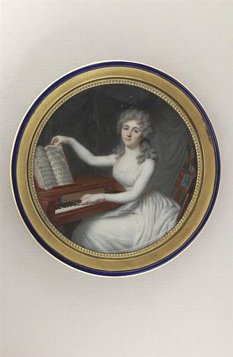Portrait de la Marquise de Segouzac