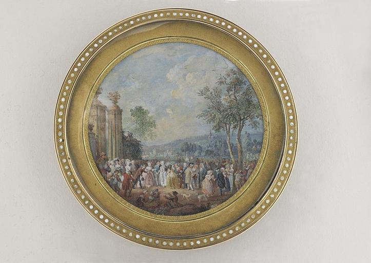 BLARENBERGHE Louis Nicolas van : Noce de village, ou la visite au château