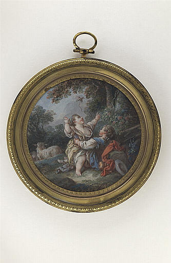 HUET Jean-Baptiste, BOUCHER François (inspiré par) : L'oiseau envolé