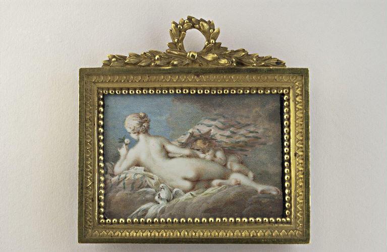 Vénus et l'Amour endormis