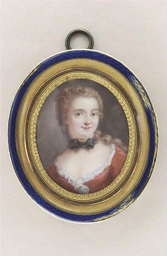 COURTOIS Nicolas André : Portrait présumé de Madame du Châtelet
