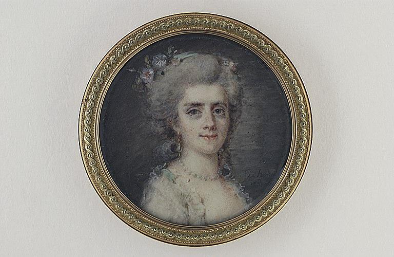 HOIN Claude Jean-Baptiste : Portrait de femme