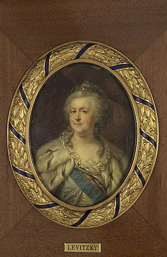Portrait de Catherine II, impératrice de Russie_0