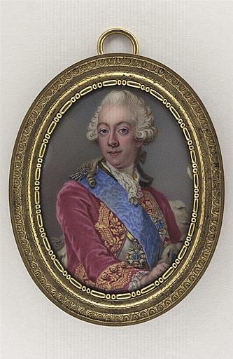 Portrait de Gustave III, roi de Suède
