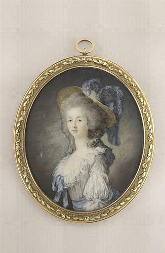 Portrait présumé de la princesse de Lamballe