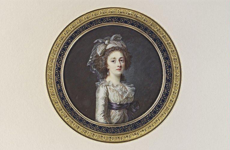 Portrait présumé de Madame Elisabeth, soeur de Louis XVI