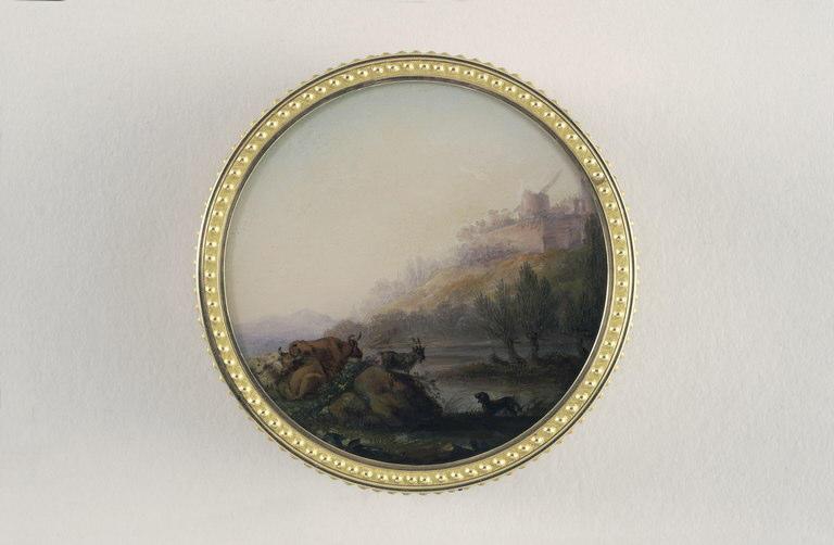 DUMONT François : Portrait d'homme
