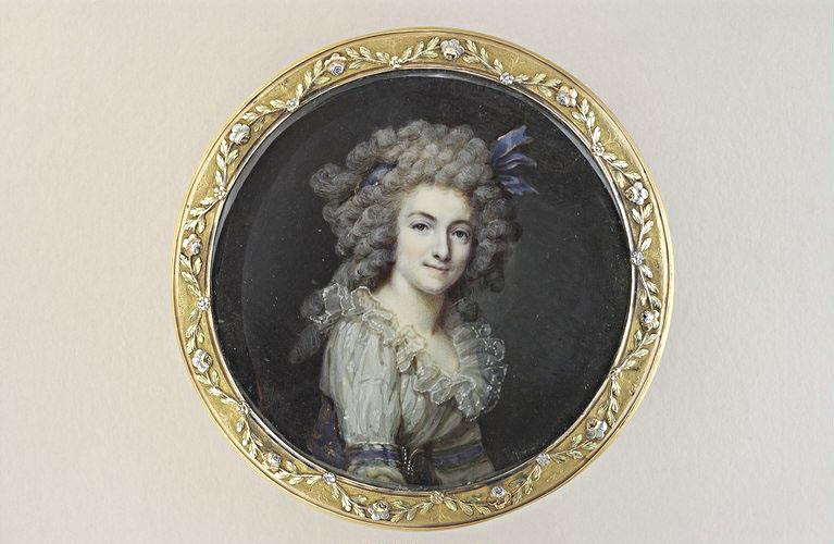 DUMONT François : Portrait de femme
