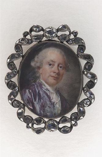Portrait du peintre Alexandre Roslin (1718-1793)