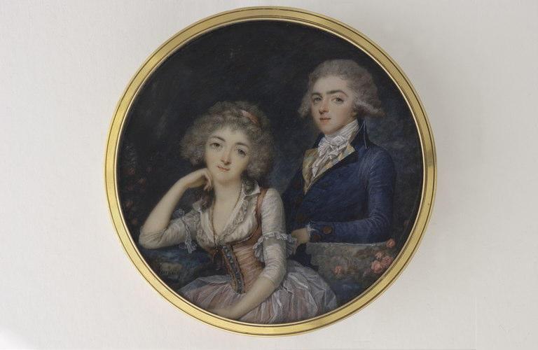 Jeune femme et jeune homme_0