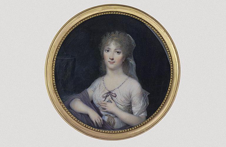 ISABEY Jean-Baptiste : Madame de Montalembert