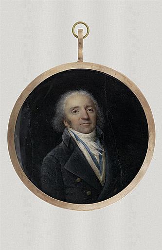 Portrait du danseur Despréaux, mari de la Guimard_0