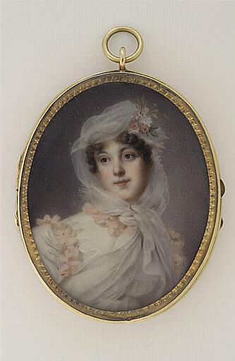 Portrait de la maréchale Lannes, duchesse de Montebello