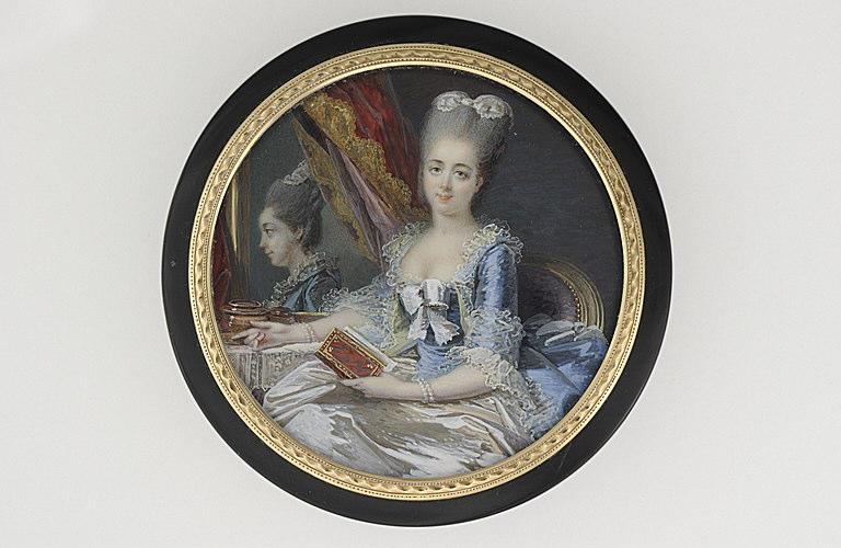 Portrait de la duchesse de Fitz-James, née de Thiard de Bissy