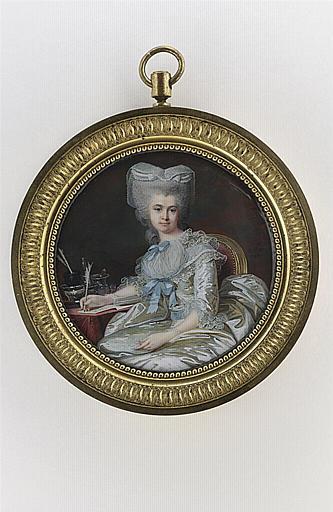 MOSNIER Jean Laurent : Portrait de la duchesse de Châtillon