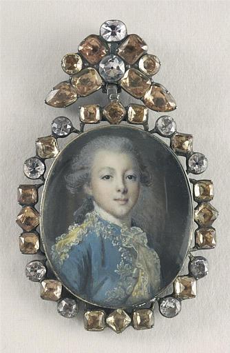 Portrait d'un jeune seigneur